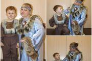 Фотовыставка «Мамы и дети в национальных костюмах».